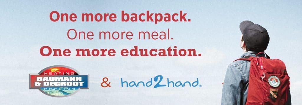 Hand2Hand promotion.